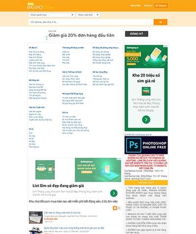 khuchotot Thiết kế website Quảng Ngãi chuẩn SEO Google