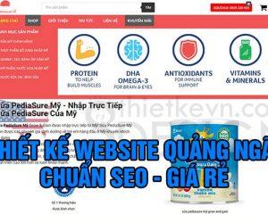 Thiết kế website Quảng Ngãi chuẩn SEO Google